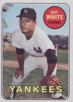 1969 Topps #25 Roy White Front