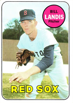 1969 Topps #264 Bill Landis Front