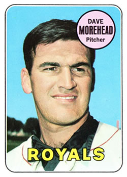 1969 Topps #29 Dave Morehead Front