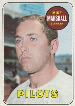 1969 Topps #17 Mike Marshall Front