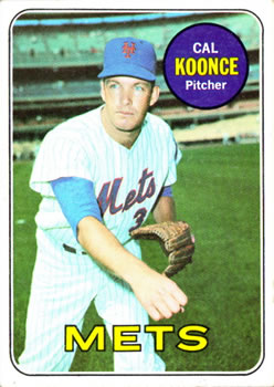 1969 Topps #303 Cal Koonce Front