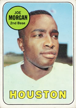 1969 Topps #35 Joe Morgan Front