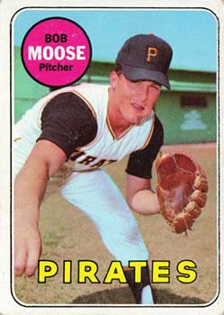 1969 Topps #409 Bob Moose Front