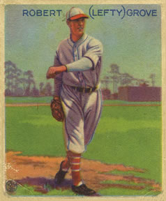 1933 Goudey #220 Lefty Grove Front
