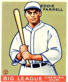 1933 Goudey #148 Doc Farrell Front