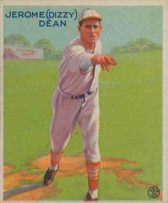 1933 Goudey #223 Dizzy Dean Front