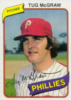 Tug Mcgraw Gallery 1980 The Trading Card Database