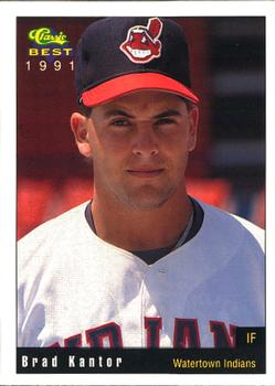 1991 Classic Best Watertown Indians #18 Brad Kantor Front