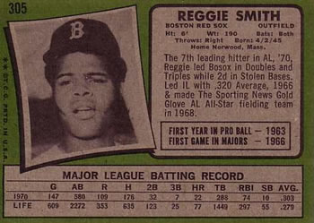 Reggie Smith Gallery The Trading Card Database