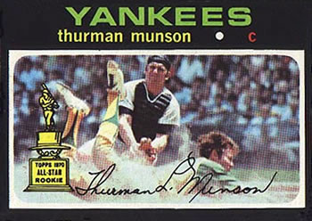 1971 Topps #5 Thurman Munson Front