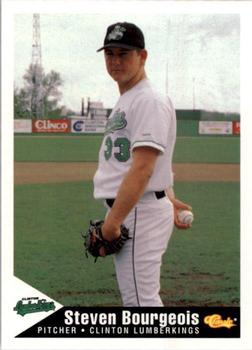 1994 Classic Best Clinton Lumberkings #5 Steven Bourgeois Front