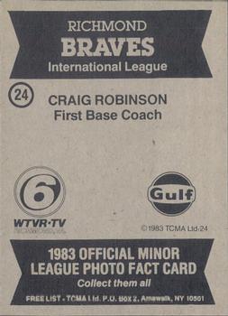 coach craig robinson