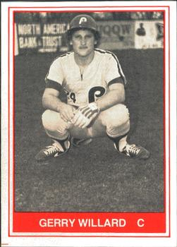 1982 TCMA Reading Phillies #11 Gerry Willard Front