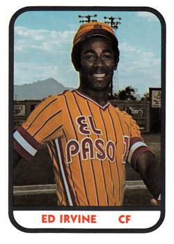 1981 Tcma El Paso Diablos Baseball Gallery The Trading Card Database