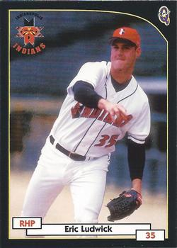 2000 Blueline Indianapolis Indians #21 Eric Ludwick Front