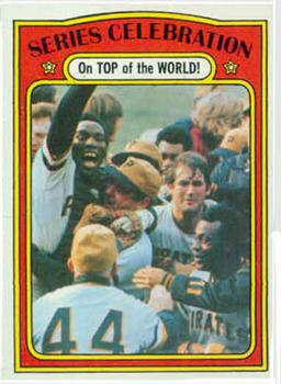 1972 Topps #230 1971 World Series Summary Front
