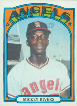 1972 Topps #272 Mickey Rivers Front