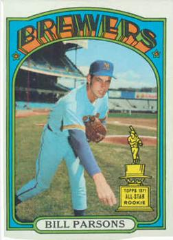 1972 Topps #281 Bill Parsons Front