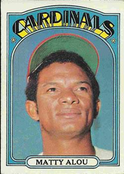 1969 Topps Matty Alou #490 Baseball Card Value Price Guide
