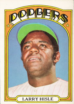 1972 Topps #398 Larry Hisle Front