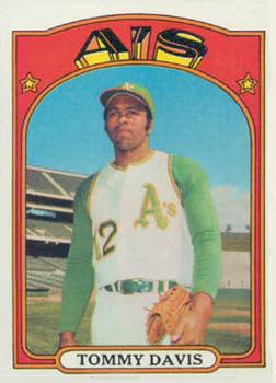 1972 Topps #41 Tommy Davis Front