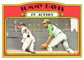 1972 Topps #42 Tommy Davis Front