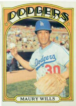 1972 Topps #437 Maury Wills Front