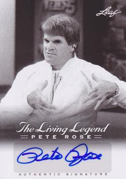 2012 Leaf Pete Rose The Living Legend - Autographs #AU-49 Pete Rose Front