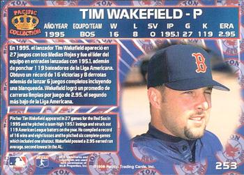 Tim Wakefield Gallery The Trading Card Database