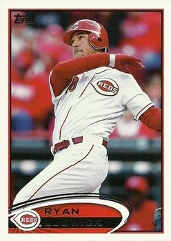 2012 Topps Update #US247 Ryan Ludwick Front