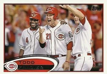 2012 Topps Update #US275 Todd Frazier Front