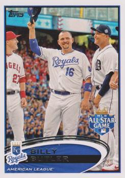 2012 Topps Update #US37a Billy Butler Front