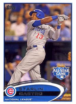 2012 Topps Update #US74 Starlin Castro Front