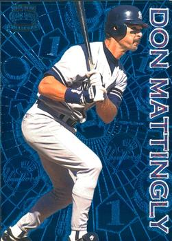 1996 Pacific Crown Collection - Milestones #M-2 Don Mattingly Front