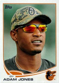 2013 Topps #10 Adam Jones Front