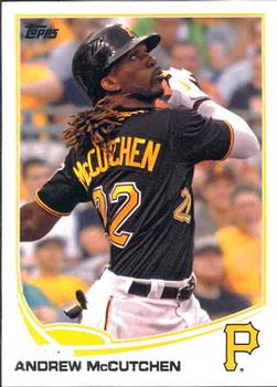 2013 Topps #122 Andrew McCutchen Front