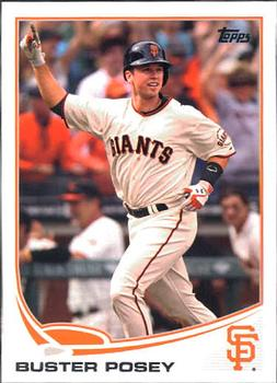 2013 Topps #128 Buster Posey Front