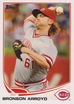 2013 Topps #161 Bronson Arroyo Front