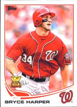 2013 Topps #1 Bryce Harper Front