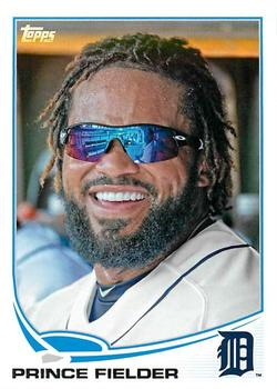 2013 Topps #28 Prince Fielder Front