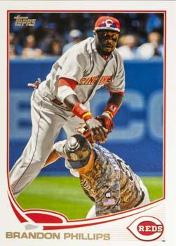 2013 Topps #386 Brandon Phillips Front