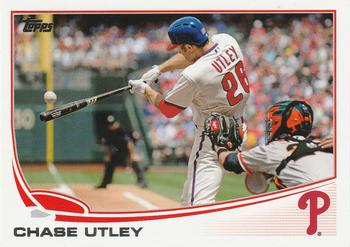 2013 Topps #26 Chase Utley Front