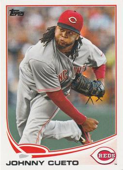 2013 Topps #275 Johnny Cueto Front