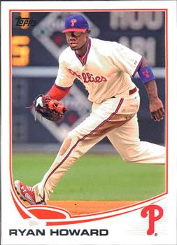 2013 Topps #6 Ryan Howard Front