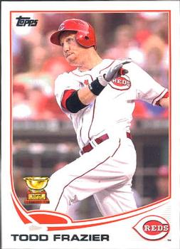 2013 Topps #70a Todd Frazier Front