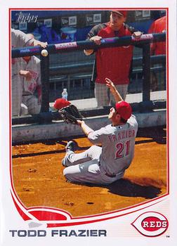 2013 Topps #70 Todd Frazier Front