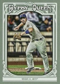 2013 Topps Gypsy Queen #37 David Wright Front
