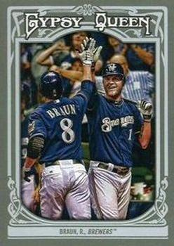 2013 Topps Gypsy Queen #62 Ryan Braun Front