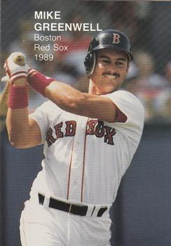 1989 Boston Red Sox Team Set (unlicensed) #5 Mike Greenwell Front