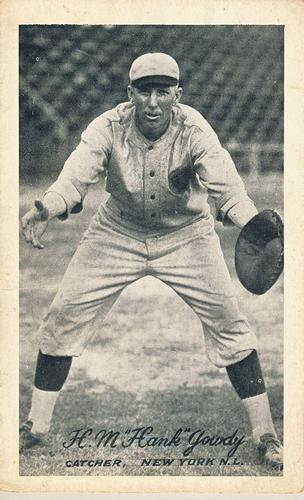 1923-24 Exhibits W461 #15 Hank Gowdy Front